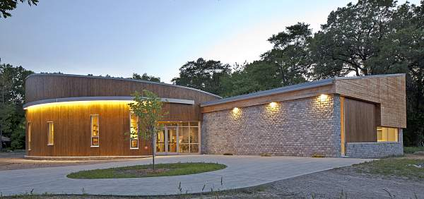 new nature centre, image by Dan Reaume Photography