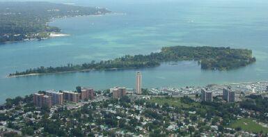 Peach Island Detroit River