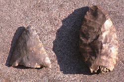 arrowheads found near Malden Park